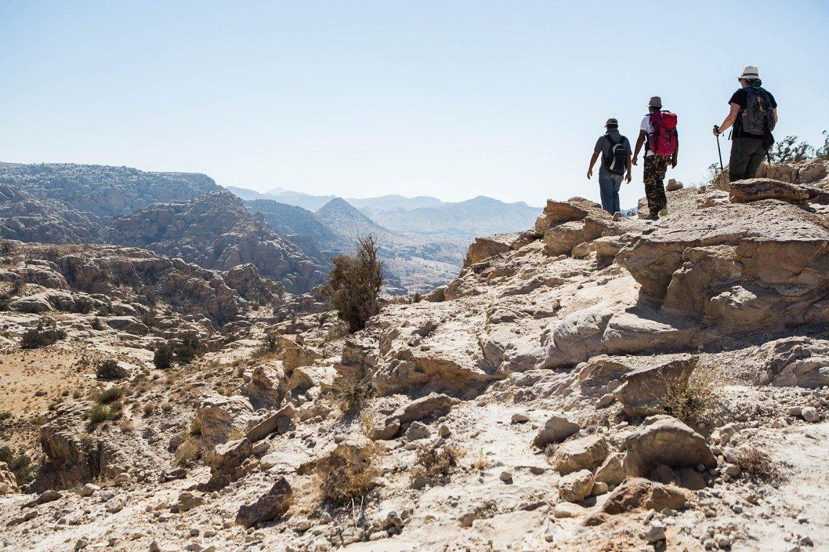 Achterpoort naar Petra